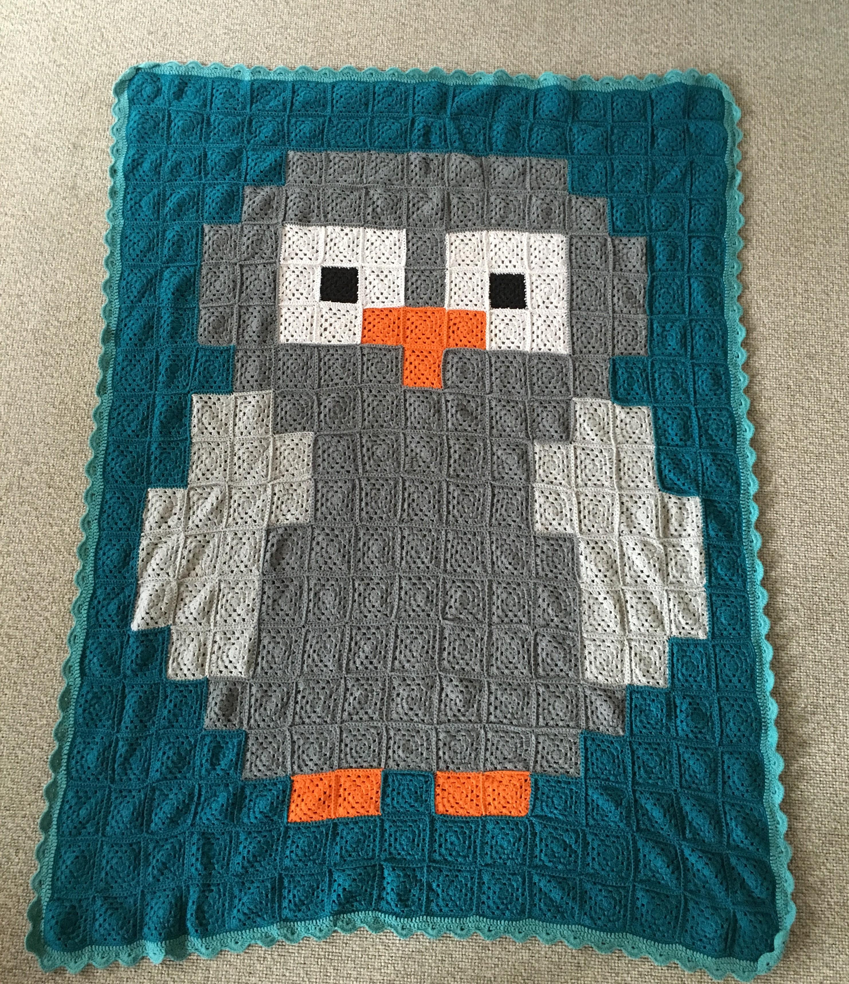 Ugle tæppe