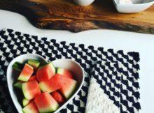 Hæklet servietter og skøn borddækning