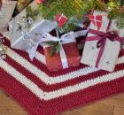 Juletræstæppe - Ribbon
