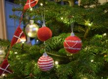 Hæklet julekugler