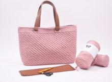 Hæklet shopper / Taske