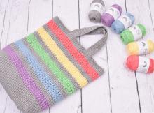 Summertime indkøbsnet - Rainbow