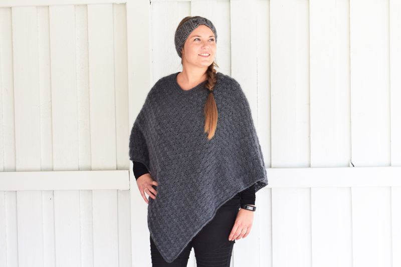 Winter Shells Poncho