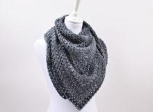 Hæklet Dream Colour tørklæde/sjal