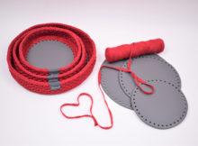 Jule Dekorationsbakker med rund læderbund