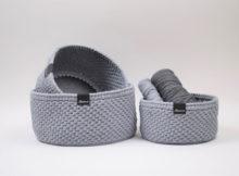 Ribbon Kurve med rund læderbund - Klassisk