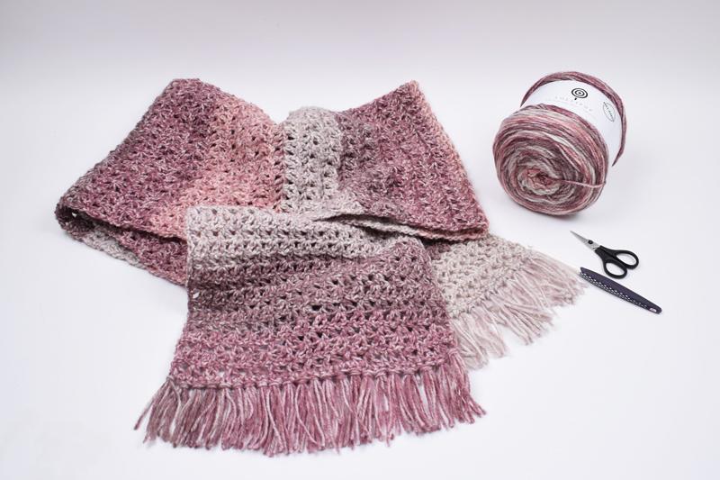 Lollipop Melange - Halstørklæde