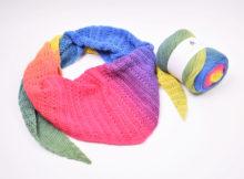 Dolce Harlequin Tørklæde