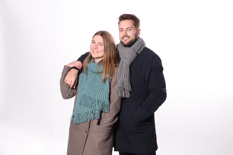 Casual Rib Halstørklæde - Unisex