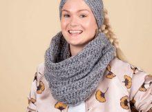Holly Tubetørklæde