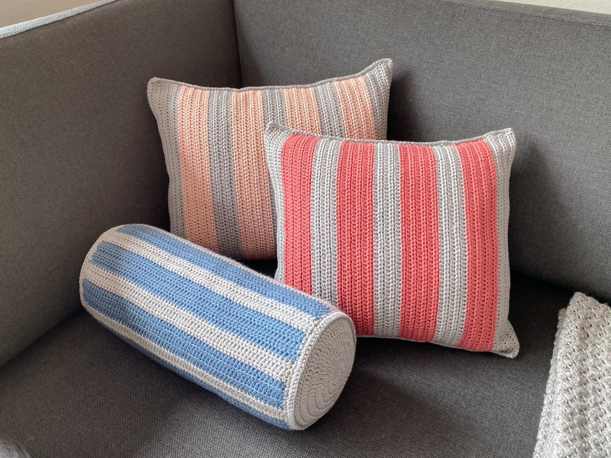 Cotton Stripes Pude - Pølle